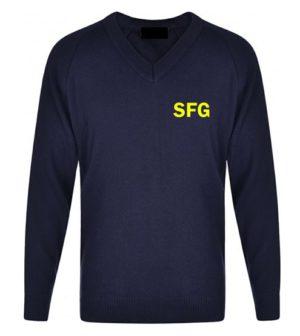 SFG V-NECK JUMPER, SFG