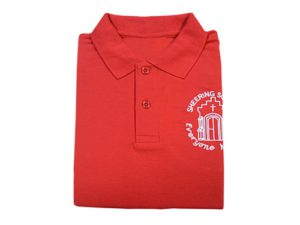 SHEERING RED POLO SHIRT, Sheering Primary