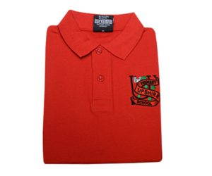 UPSHIRE RED POLO, Upshire
