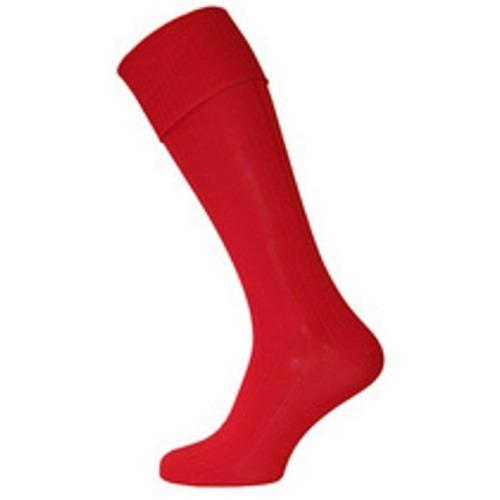 PE SOCKS - RED, Leventhorpe, PE Socks