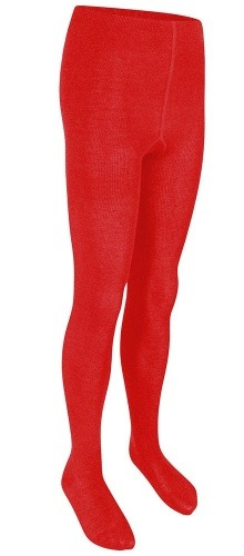 COTTON TIGHTS (TP) - RED, Socks & Tights