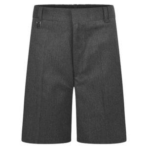 STURDY FIT SHORTS - GREY, Boys Shorts