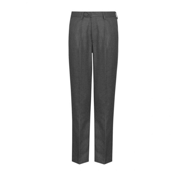 SLIM FIT TROUSERS - GREY, Boys Trousers