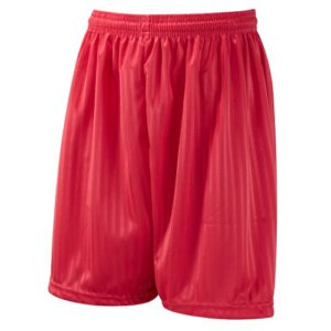 SHADOW STRIPE SHORTS - RED, Little Parndon, Matching Green, Upshire, Sheering Primary