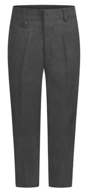 STURDY FIT TROUSERS - GREY, Junior Trousers