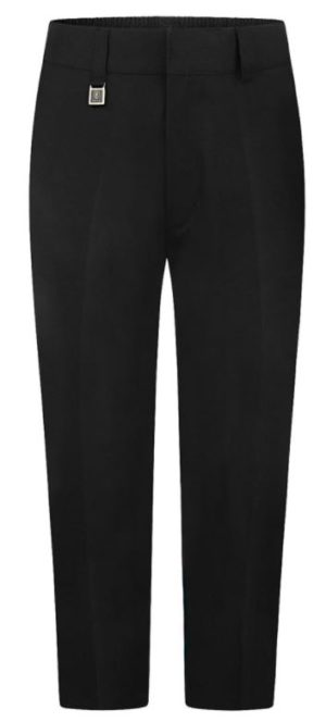 ZECO STURDY FIT TROUSER-BLACK, Junior Trousers