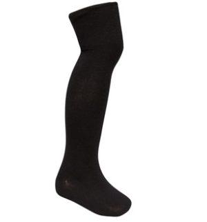 OVER KNEE SOCKS - BLACK, Socks & Tights