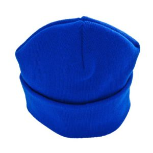 KNITTED SKI HAT - ROYAL, Winter Hats